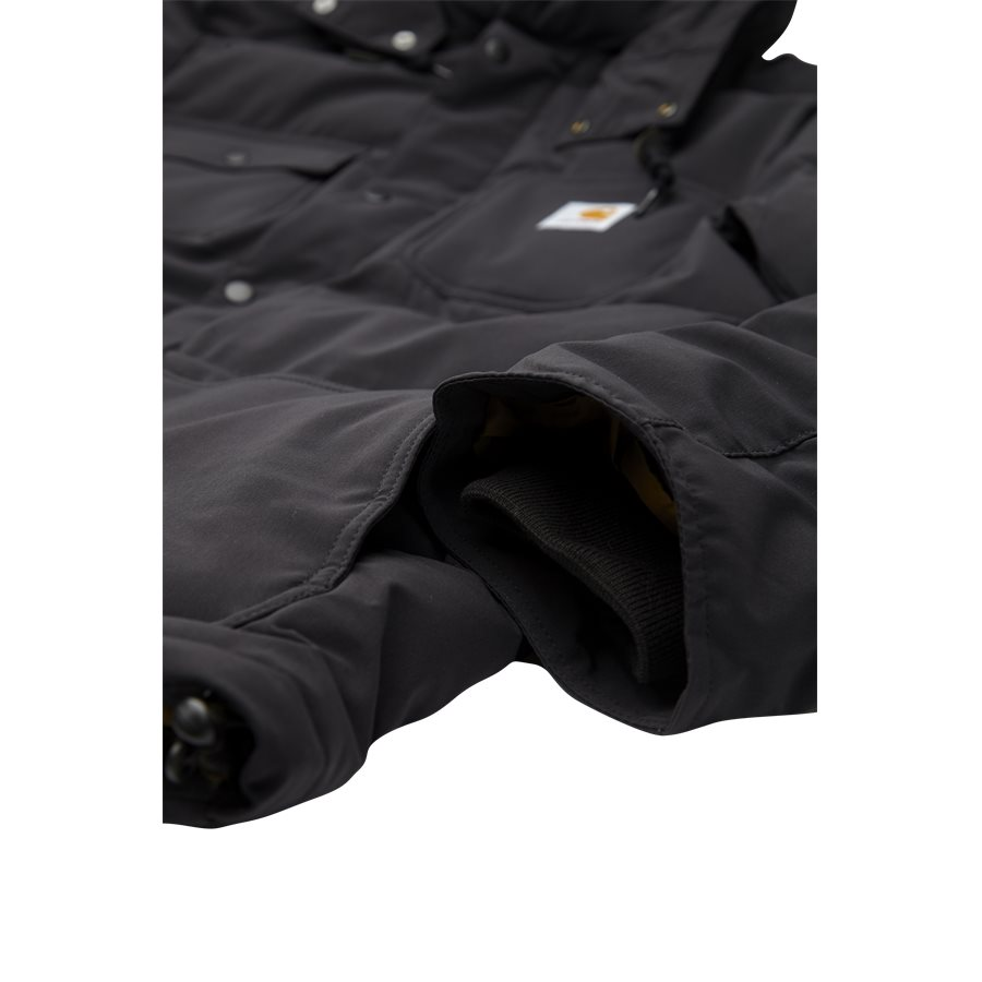 ALPINE COAT I023081 - Alpine Coat - Jakker - Regular - BLK/HAM. BROWN - 4